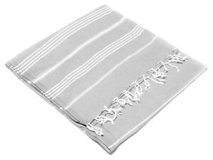 Turkish Hammam Towel Pestemal Beach Travel Peshtemals Bath Fouta Cotton Large