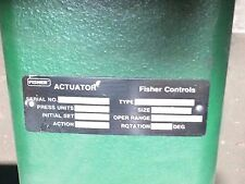Fisher Hydraulic-Pneumatic Actuator Type 1051 Size 33