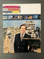 1981 Inside Universal Studios Tour Book Color Program Hollywood