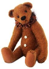 CLEMENS Limited Edition Sir Winston Teddy Bear 40cm + Cotton bag Auburn New