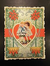 """""""Guess My Name"""" Vintage Valentine's Day Card"""