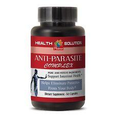 Parasite Cleanse Detox - ANTI PARASITE COMPLEX 1 Bottle 60 Capsules