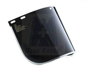 """SWP 1582 BLUE EAGLE REPLACEMENT COLOURED SHADE 5 FACE SHIELD VISOR 8"""" X 15 1/2"""""""