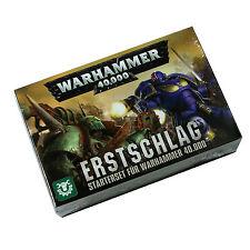 Erstschlag Ein Starterset für Warhammer 40.000 ( 40-04-04 ) Deutsch