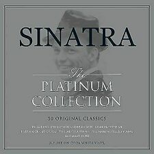 Frank Sinatra Platinum Collection Best of 50 Songs White Colored Vinyl 3 LP