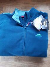 TRESPASS Fleece Jacket two tone Green, Size L Warm