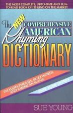 The New Comprehensive American Rhyming Dictionary by Sue Young (1991, Paperback)