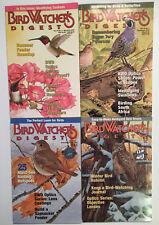 Bird Watcher's Digest 4 Issues 2002