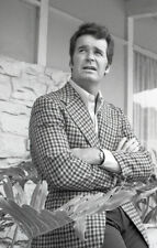 JAMES GARNER PORTRAIT THE ROCKFORD FILES RARE ORIGINAL '74 NBC TV PHOTO NEGATIVE