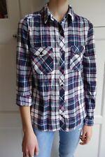 Chemise à carreaux très douce femme / fille Taille 34 XS