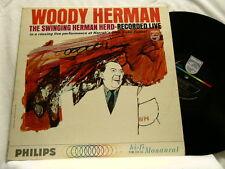 WOODY HERMAN Live Harrah's Dusko Goykovich Bill Chase Phillips LP MONO dg