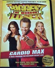The Biggest Loser: The Workout  CARDIO MAX (DVD, 2007) SHIPS Free Mon-Sat!