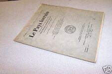 LE PAYS LORRAIN 1933 N° 10 WOINVILLE SAINT BALMONT
