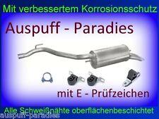 Endschalldämpfer Auspuff VW T4 Bus & Kasten 2.5TDi (65 & 75KW) ab Bj.01/1996+Kit