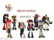 2003 McDonalds Bratz Dolls MIP Complete Set - Lot of 8, Girls, 3+