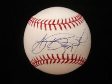 A.J. Burnett Autographed ML Baseball