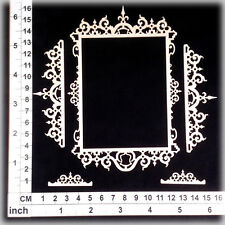 Chipboard Embellishments for Scrapbooking, Cardmaking - Ornate Frames 256110w