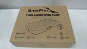 Twin Air Mattress with High Speed Wireless Pump