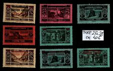 GRAND LIBAN : Timbres TAXE 21 à 28, Neufs * = Cote 40 € / Lot COLONIES