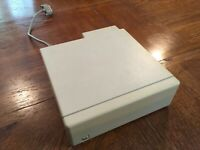 Vintage External Apple Macintosh Hard Disk 20 Model Number M0135 P/N 825-1195-A