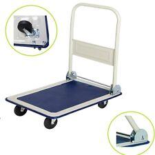 150Kg Heavy Duty Folding Trolley Cart Platform Flat Barrow Sack comfortable UKES