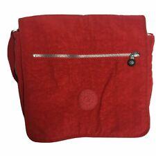 Kipling Red Crossbody Messenger Shoulder Bag, Inside Pockets & Dividers RARE