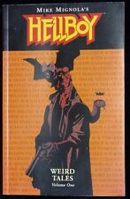 Hellboy Weird Tales Volume One Mike Mignola Dark Horse Comics 1st Edition 2003