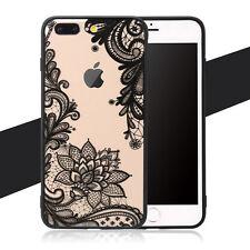 Handyhülle für Apple iPhone 6 7 Plus Cover Case Silikon Slim TPU Schutz Tasche