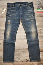 Diesel Regular Ripped, Frayed Mid Rise Jeans for Men