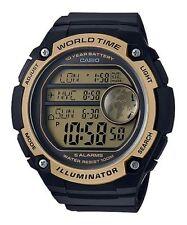 Casio AE3000W-9AV, World Time Digital Watch, 5 Alarms, 100 Meter WR, Chronograph