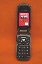 VERIZON / PAGE PLUS, SAMSUNG SCH-U680 CONVOY 3 CELLULAR PHONE PTT, SCHORCHING