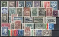 AL5362/ FINLAND – 1945 / 1952 MINT SEMI MODERN LOT