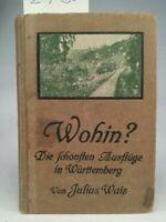 Wohin? Die schönsten Ausflüge in Württemberg und dessen Grenzgebieten. Wais Juli