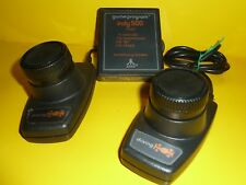 ATARI 2600 DRIVING PADDLE CONTROLLERS WITH INDY 500 GAME CX-2611 Works Great