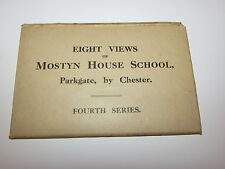 8 Views Of Mostyn House School, Parkgate By Chester Postcards-Fourth Series 1930