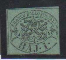 A7778: Roman States #2a Mint, NG, Sound; CV