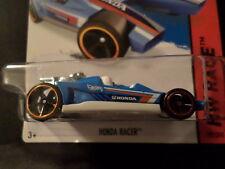 HW HOT WHEELS 2015 HW RACE #182/250 HONDA RACER HOTWHEELS BLUE VHTF