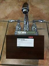 Delta Faucet B2596LF Two Handle Centerset Lavatory Faucet Chrome