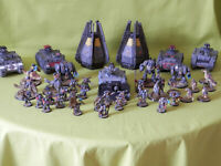 WARHAMMER 40K SPACE MARINES SPACE WOLVES ARMY - MANY UNITS TO CHOOSE FROM