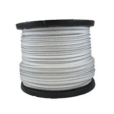 1/2″ 1000 ft Bungee Shock Cord White With Black Tracer  Marine Grade Heavy Duty