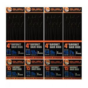 "GURU MWG Bayonets 4""  and 15"" rigs, Various. Free Postage"