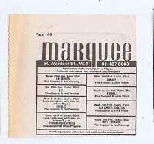 IAN CARR / MICK ABRAHAM / CLANCY / HALFBREED press clipping 1976 8x8cm (31/1/76)