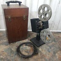 Antique Kodascope Model E Film Projector With Case Tested Eastman Kodak Co. 850w