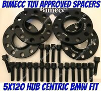 Alloy Wheel Spacers 12mm Bmw 1 2 3 4 5 SERIES M14X1.25 + Extended Bolts B Bimecc