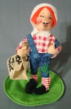 """Annalee Raggedy Andy Tags Doll 1997 Halloween 7"""" Trick or Treat"""