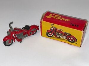 Vintage Diecast Metal Harley Davidson Motorcycle By Tekno of Denmark with Box