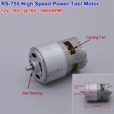 DC 12V 18V 19000RPM High Speed Large Power RS-755 Motor DIY Electric Drill Tools