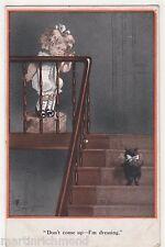 Fred Spurgin, Quaint Kiddies, Don't Come Up, I'm Dressing Comic Postcard, B572