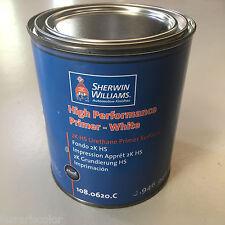 Fondo bianco Sherwin Williams primer per carrozzeria auto colore verniciatura 1l