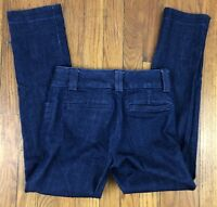 Banana Republic The Sloan Fit Womens Jeans Stretch Tag Size 0 Actual 26x27 Dark